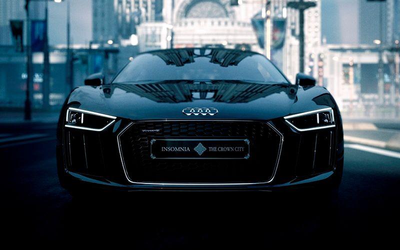 Audi R8 Star of Lucis final fantasy