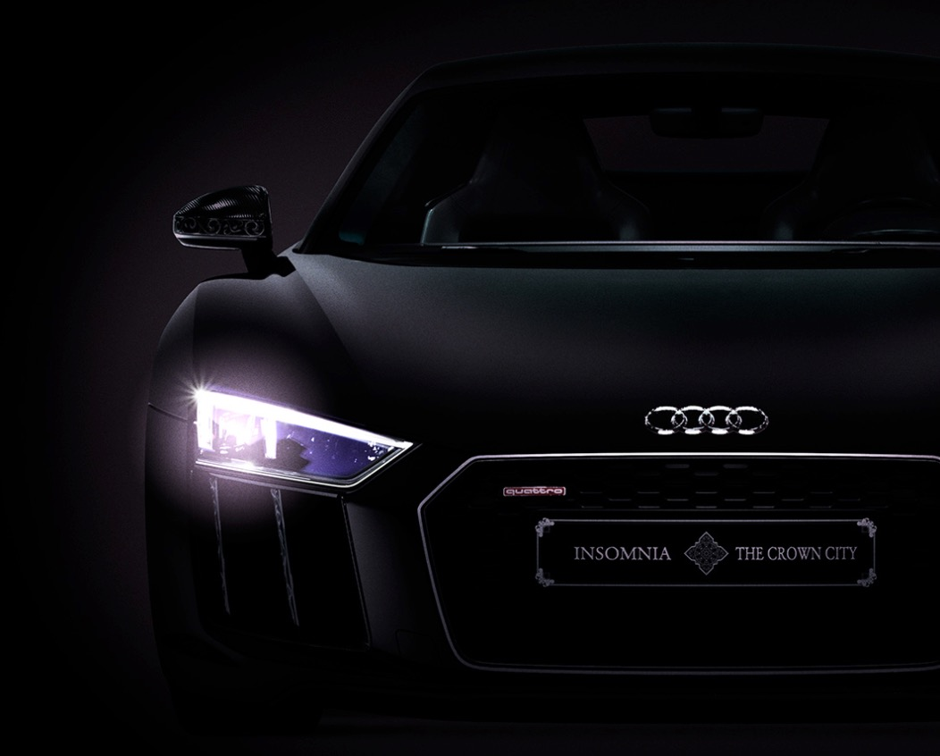 Audi R8 Star of Lucis final fantasy