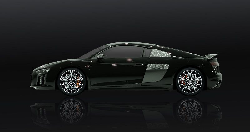 Audi R8 Star of Lucis final fantasy 3