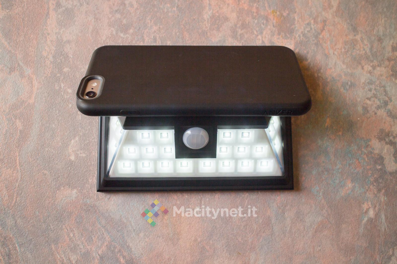 Pannello Solare Per Una Lampadina : Mpow gecd ab la lampada da esterno con ricarica solare