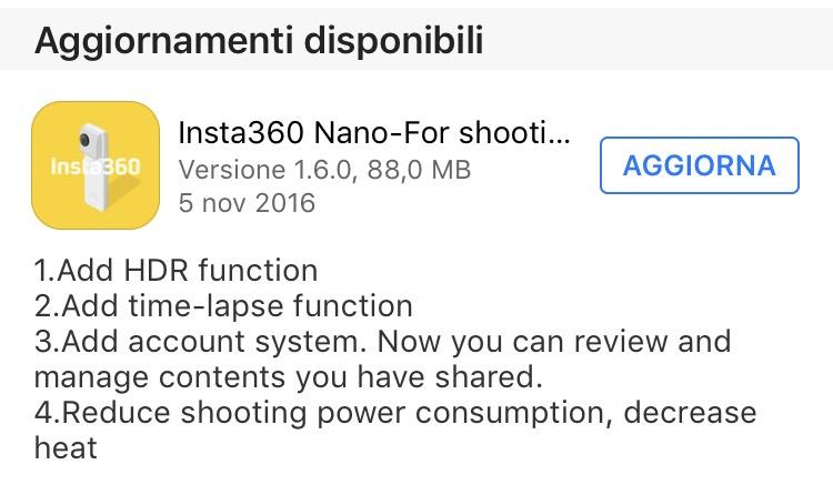 Andoer Insta360 Nano