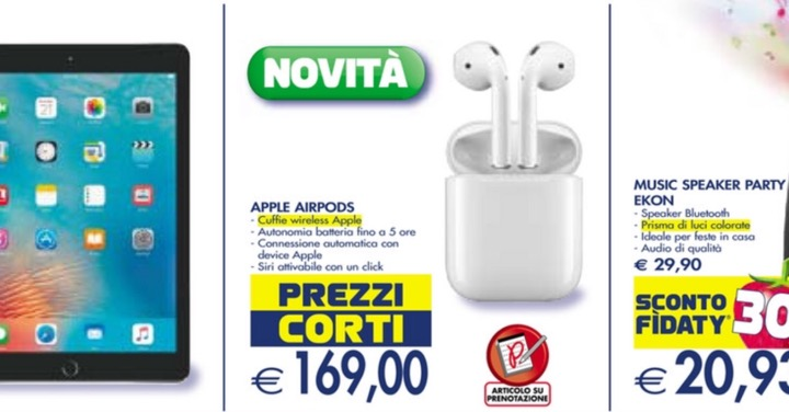 airpods esselunga