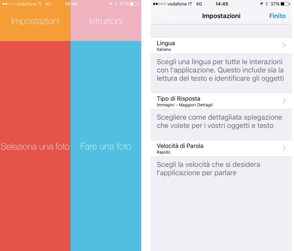 Esempio app iDentifi