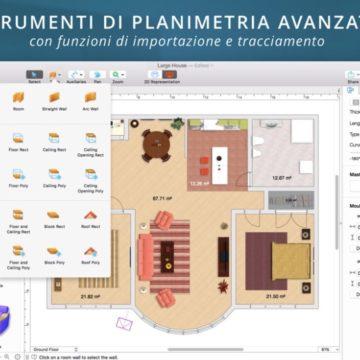Live Home 3D 3.1 esporta video a 360 gradi e supporta la Touch Bar