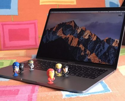 MacBook Pro 13 senza Touch Bar