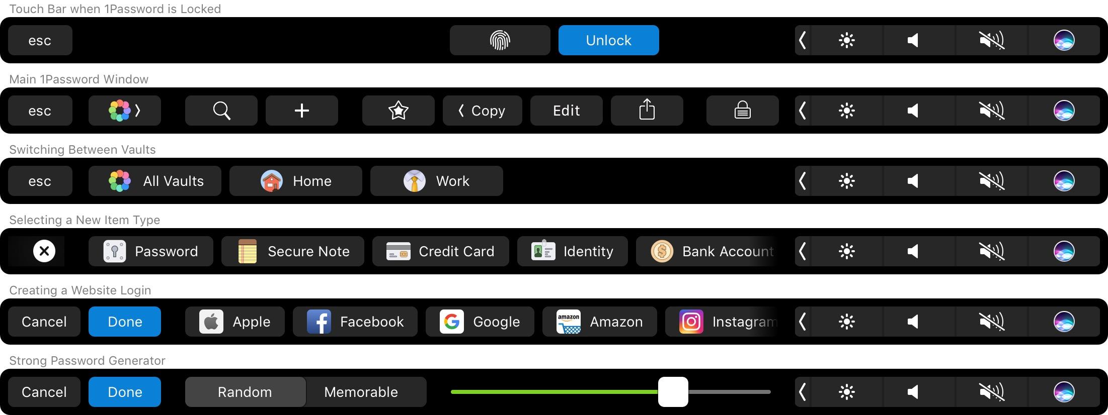 app per touch bar