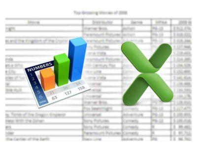 Excel vs Numbers