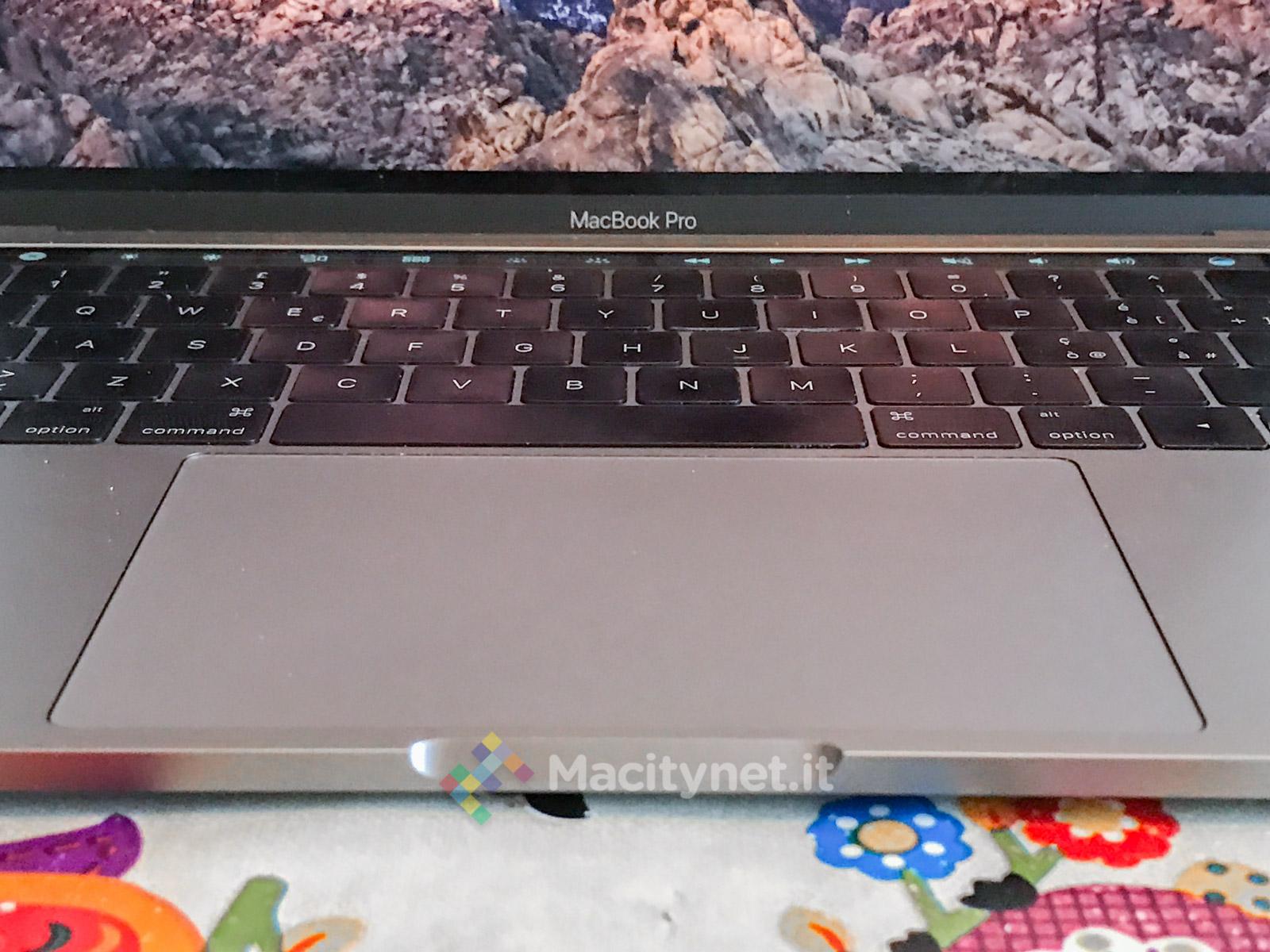 Recensione MacBook Pro 2016 Touch Bar