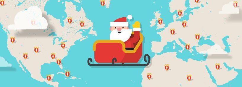 Il Percorso Di Babbo Natale.Il Volo Della Slitta Di Babbo Natale Si Traccia Con Iphone O