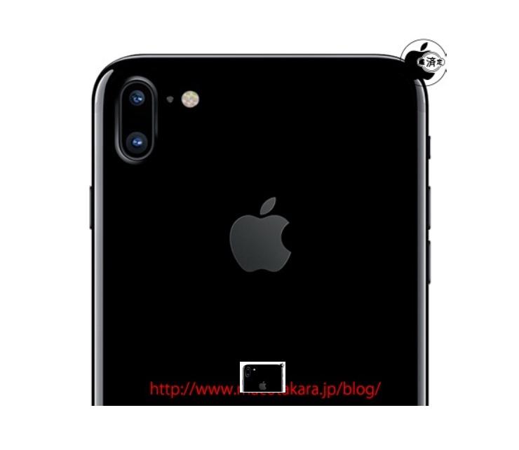 doppia fotocamera verticale iPhone 7s iPhone 8