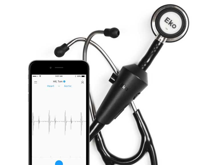 Stetoscopio smart