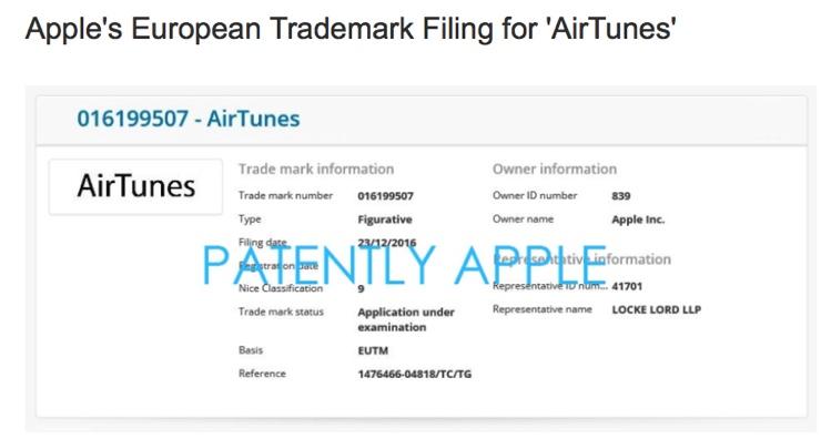 airtunes marchio apple