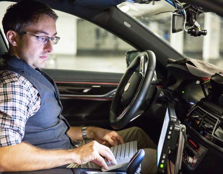 centro di sviluppo per la guida autonoma BMW