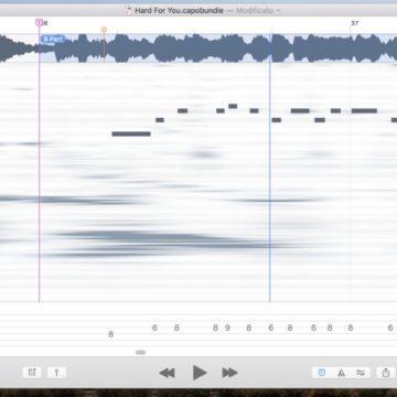 Capo, la geniale app per musicisti è pronta per la Touch Bar