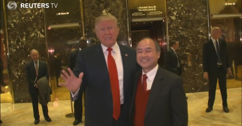 foxconn e softbank donald-trump-800-1
