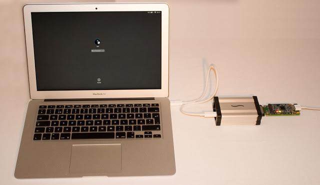 Il dispositivo usato per attaccare i dischi Mac cifrati con FileVault