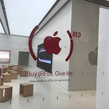 (red) apple store