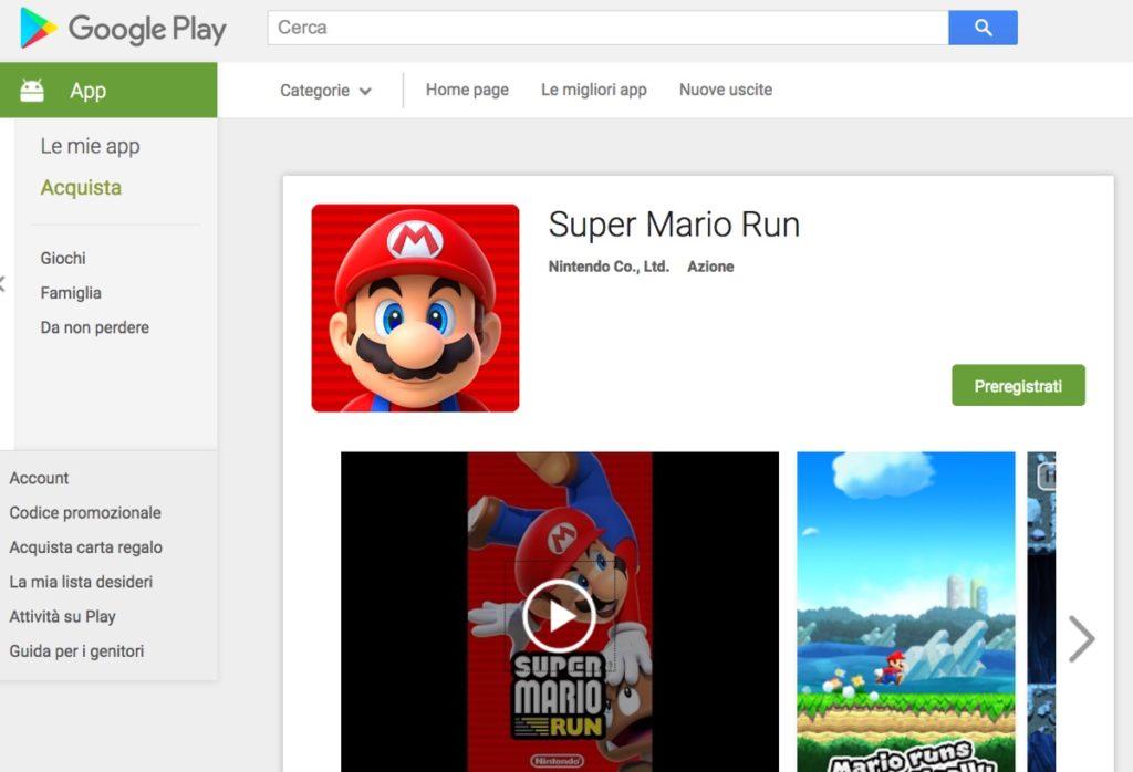 super mario run android google-play-store
