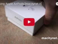 Unboxing Apple Airpods nel video di Macitynet
