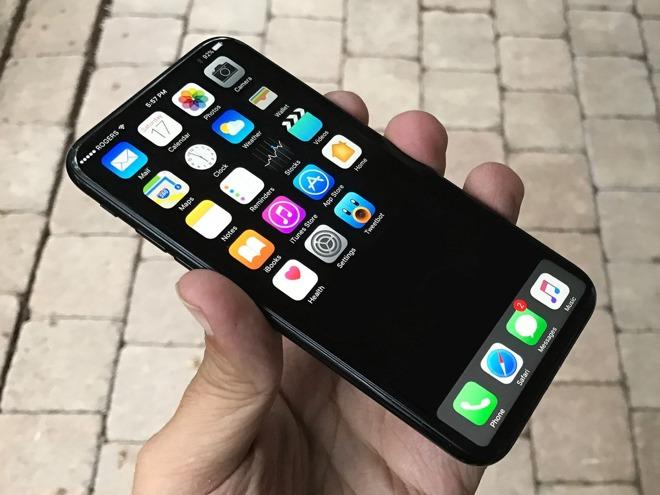Concept di iPhone 8 con schermo OLED (Foto: iMore)