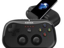 Kanex GoPlay Sidekick, il joypad tascabile per il mondo Apple in mostra al CES2017