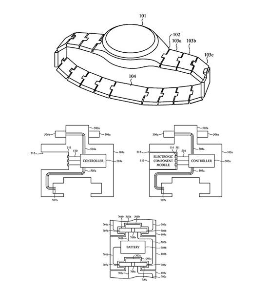 Apple watch cinturino modulare