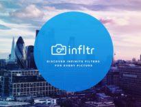 Gioca con filtri fotografici infiniti con infltr per iPhone, iPad, Watch e iMessage