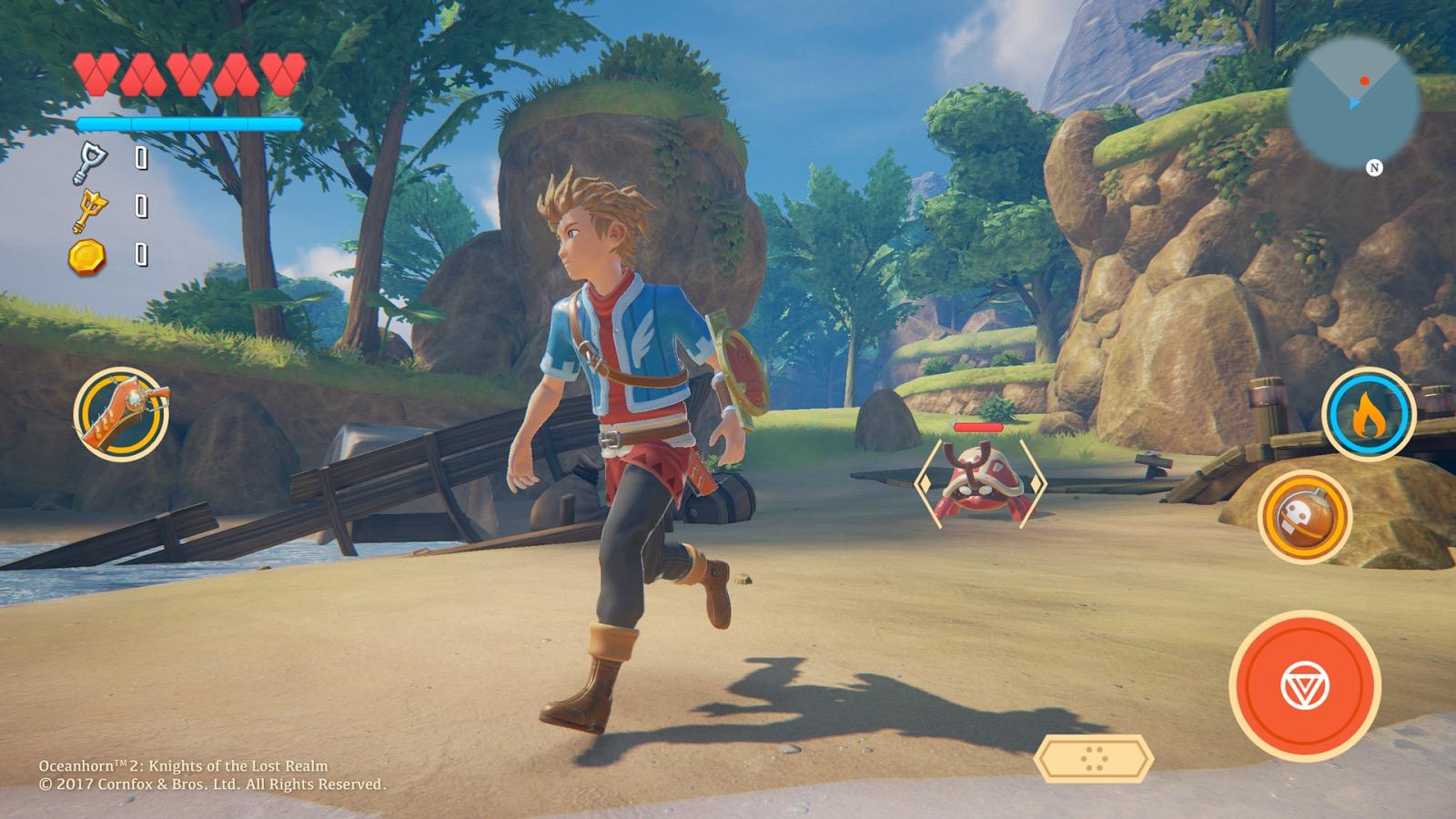 Oceanhorn 2 sarà basato su Unreal Engine 4: ecco nuove schermate -  Macitynet.it