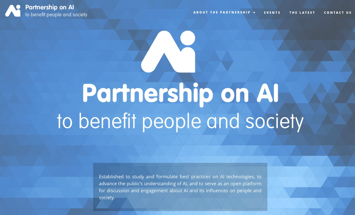 Partnership on AI 1
