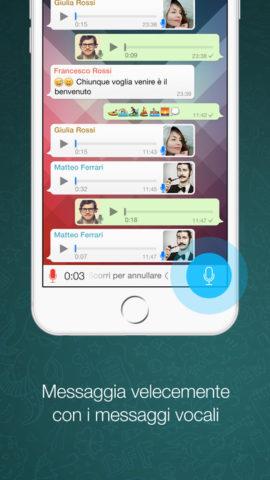 WhatsApp iOS 8