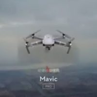 drone sfiora aereo