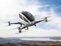 Ehang 184 al CES2017: il drone per il trasporto umano è pronto a volare