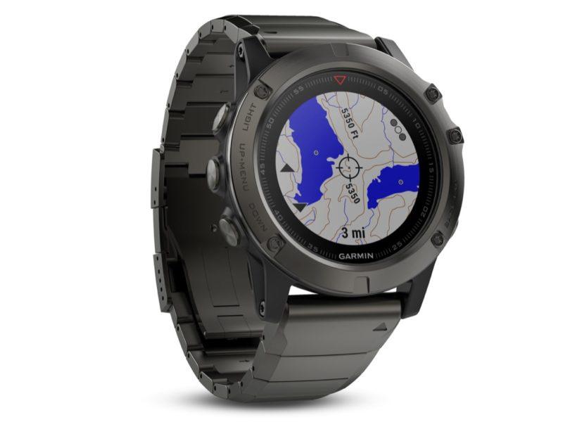 Garmin Fenix serie 5, al CES2017 gli smartwatch per ...