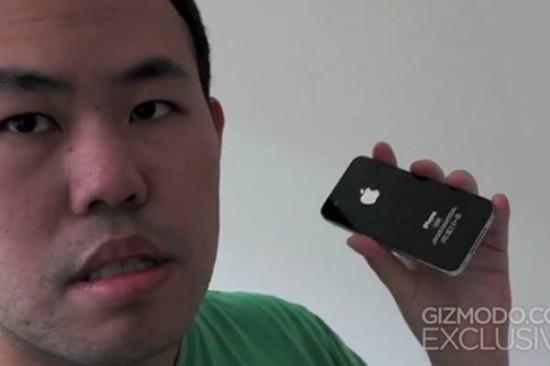 Jason Chen di Gizmodo mostra orgoglioso iPhone 4 con qualche mese di anticipo