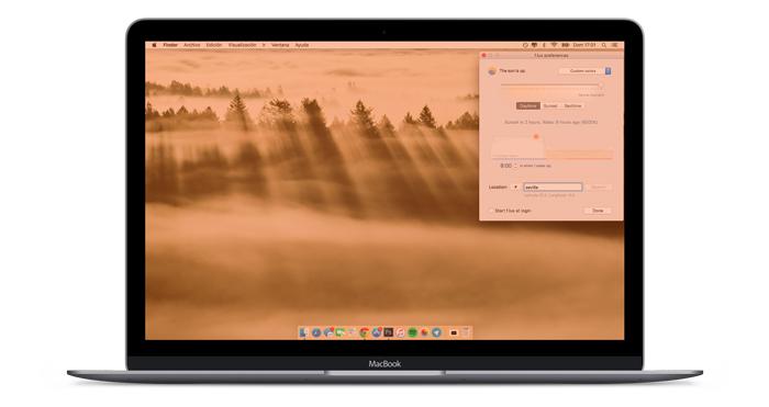night shift compatibilità mac