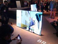 Sony, visita guidata alle novità tra TV OLED 4K che funge da speaker, proiettori e audio da cinema