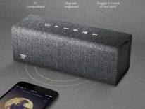 Recensione altoparlante Bluetooth TaoTronics, lino e pelle per ascoltare la musica con eleganza