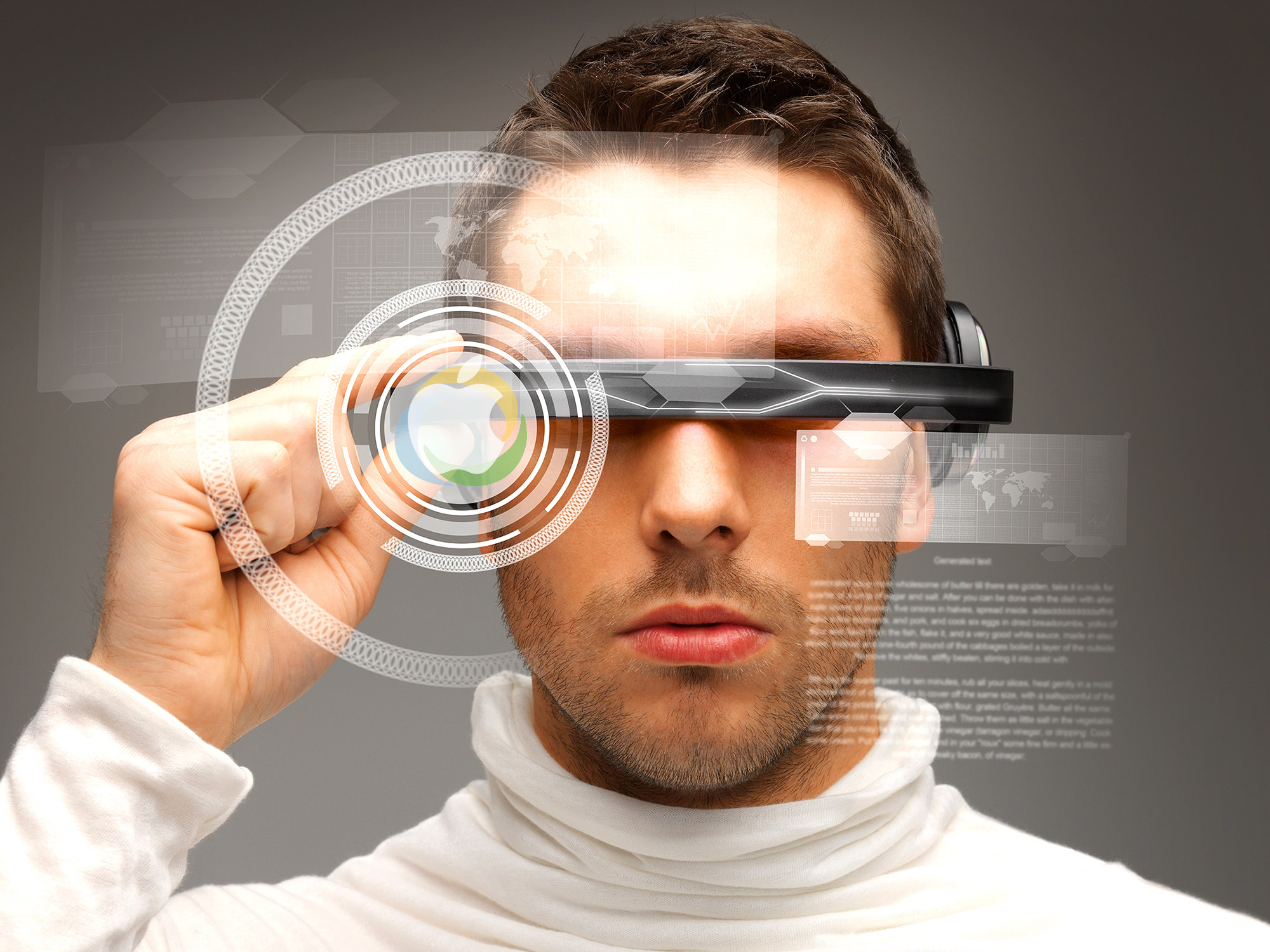 Visore VR Apple