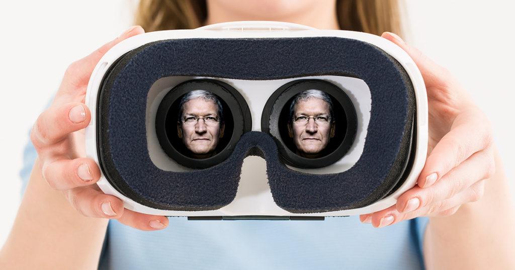 Visore VR Apple ovvero occhiali apple