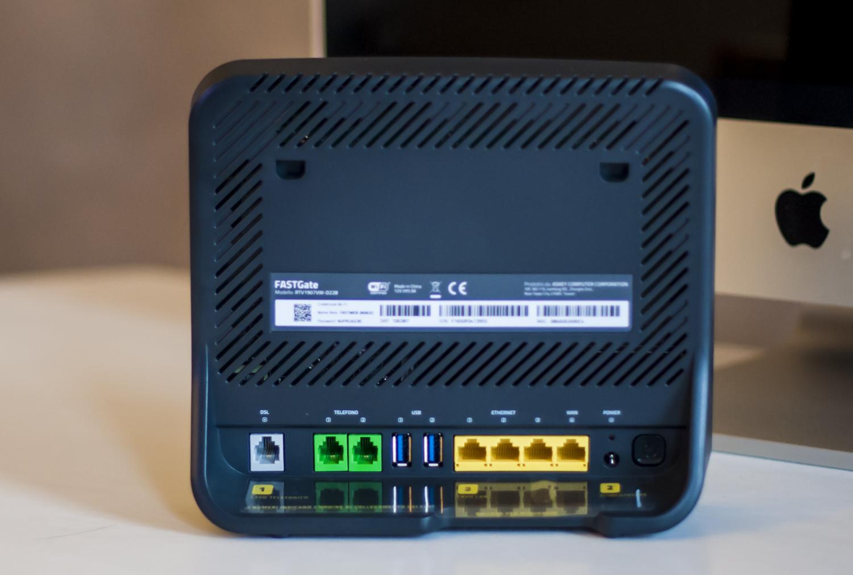Fastgate in prova il supermodem di fastweb - Mensola porta modem ...