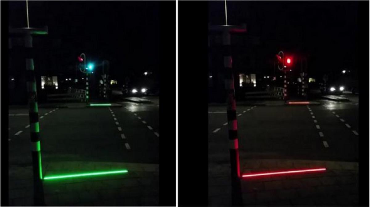 semafori marciapiede