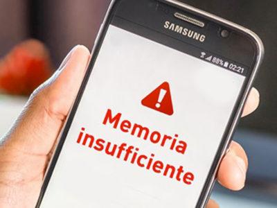 Memoria insufficiente