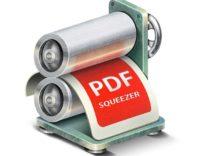 PDF Squeezer 3.7, comprime i documenti PDF in modo semplice e veloce
