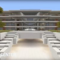 apple campus 2 Minecraft 1