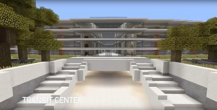apple campus 2 Minecraft 1