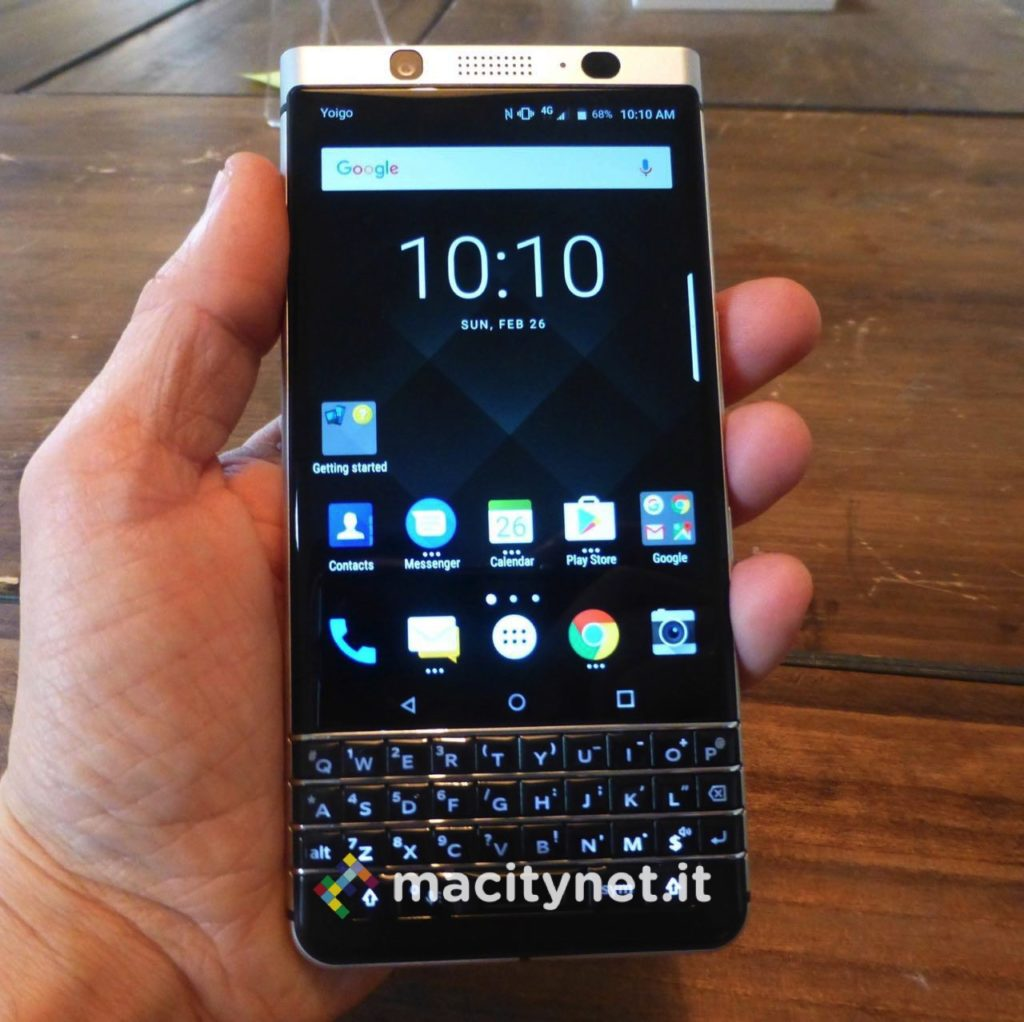 galleria Blackberry KEYone