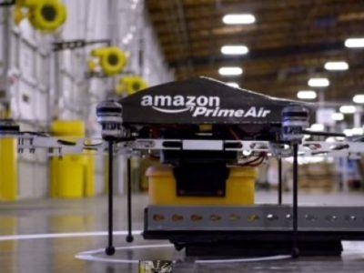 brevetto amazon drone