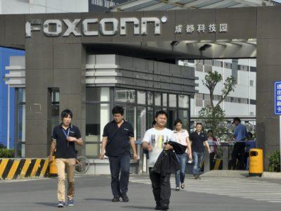 foxconn india 5 miliardi