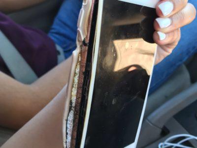 iPhone 7 Plus fuoco