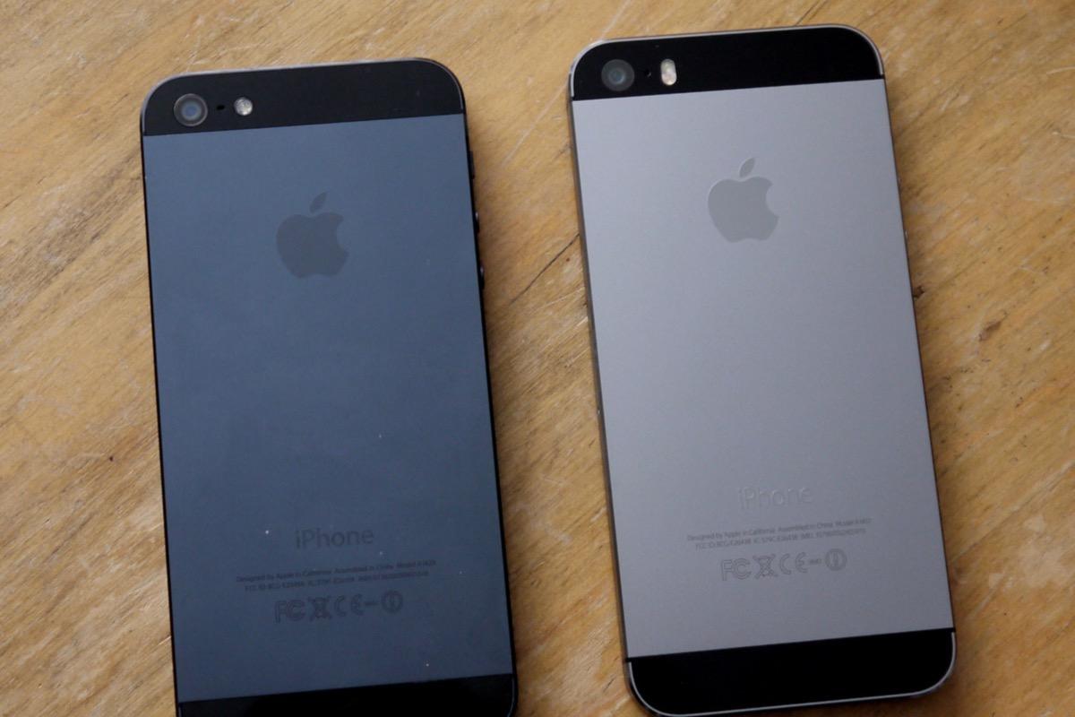 cover iphone 5s nera opaca